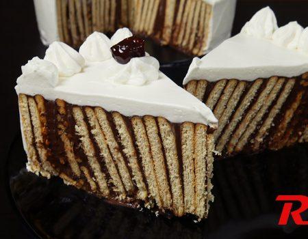 Τούρτα σοκολάτα μπισκότο