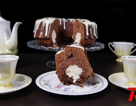 Κέικ σοκολάτα - ινδοκάρυδο