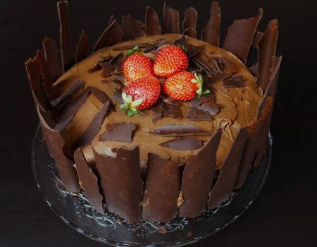Λαχταριστή τούρτα πραλίνα - σοκολάτα