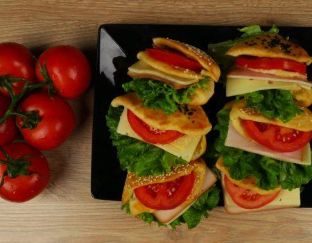 Sandwich με σπιτική ζύμη