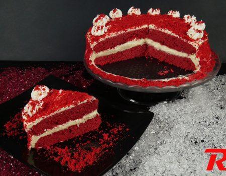 Λαχταριστή κόκκινη τούρτα (Red Velvet)