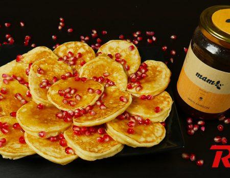 Pancakes με σως καραμέλας